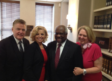 Supreme Court Justice Clarence Thomas and Ginni Thomas 2014